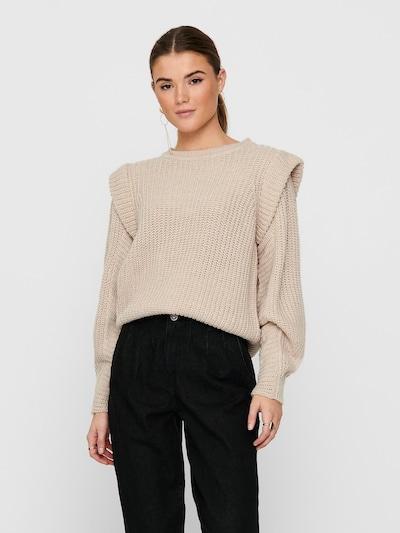 ONLY Pullover 'ONLLEXINE' in beige, Modelansicht