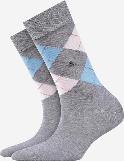 BURLINGTON Chaussettes en mélange de couleurs, Vue avec produit