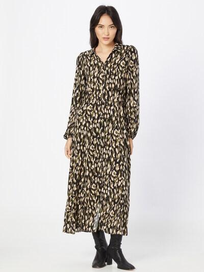Soyaconcept Shirt Dress 'TIFA 3' in Beige / Khaki / Black, View model