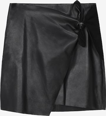 Scalpers Φούστα σε μαύρο
