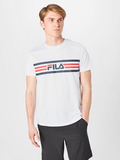 FILA Toiminnallinen paita 'Niclas' värissä tummansininen / punainen / valkoinen: Näkymä edestä