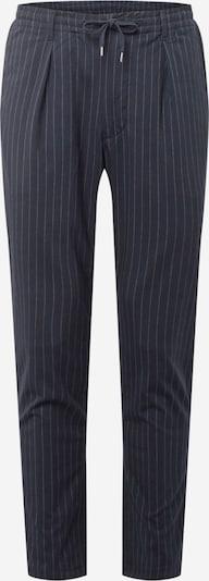 POLO RALPH LAUREN Pantalon à pince en bleu nuit / blanc, Vue avec produit