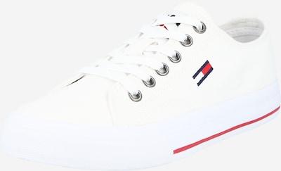 Tommy Jeans Ниски сникърси в тъмносиньо / червено / бяло, Преглед на продукта