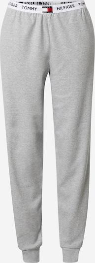TOMMY HILFIGER Pyjamahose in navy / grau / rot / weiß, Produktansicht