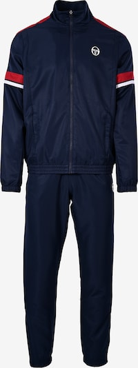 Sergio Tacchini Trainingsanzug 'Cryo' in dunkelblau / rot / weiß, Produktansicht
