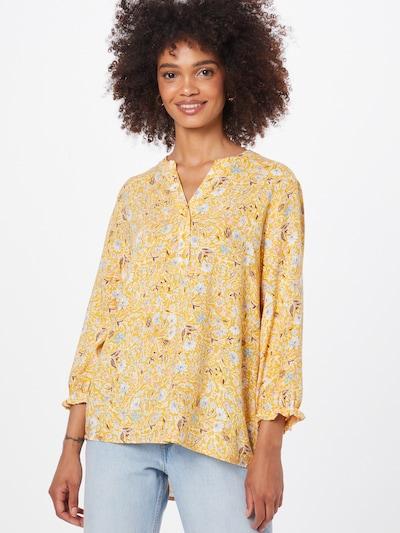 Bluză DeFacto pe albastru deschis / galben auriu / mov pastel / roz deschis / roşu închis, Vizualizare model