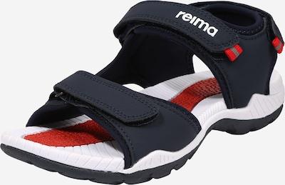 Reima Chaussures ouvertes 'Ratas' en bleu marine / rouge / blanc, Vue avec produit
