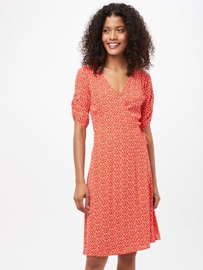 Rochie de vară 'FLAMINIA' b.young pe roșu rodie / alb, Vizualizare model