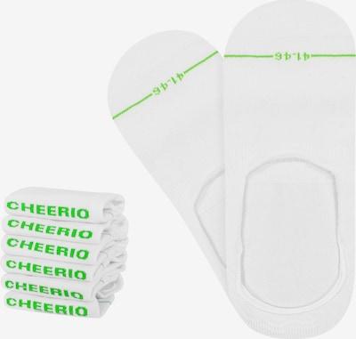 CHEERIO* Socken  'INVISIBLE FELLOW 6P' in weiß, Produktansicht