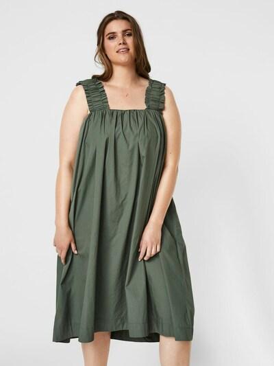 olíva Vero Moda Curve Nyári ruhák 'Lanie', Modell nézet