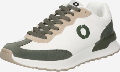 ECOALF Baskets basses 'PRINCE' en vert foncé / blanc, Vue avec produit