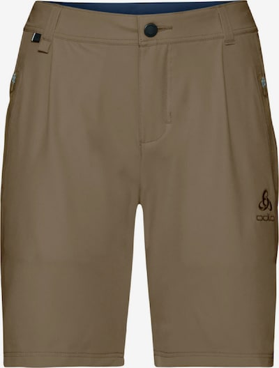 ODLO Shorts 'KOYA COOL PRO' in dunkelbeige, Produktansicht
