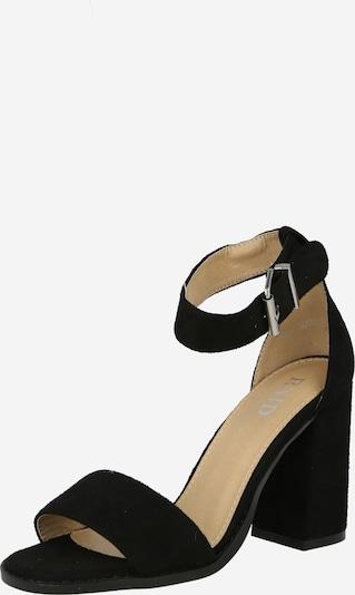 Sandale cu baretă 'IMANI' Raid pe negru, Vizualizare produs