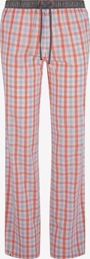 Luca David Pyjama-Pants ' Olden Glory ' in hellblau / grau / hellrot, Produktansicht