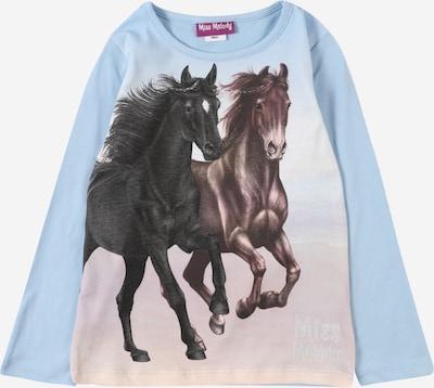 Miss Melody T-Shirt en bleu clair / marron / anthracite / blanc, Vue avec produit