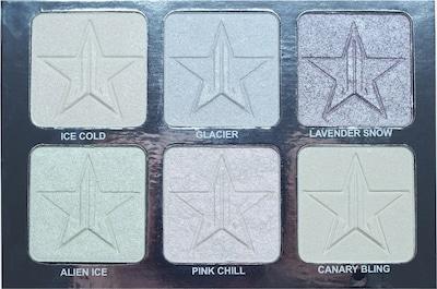 Jeffree Star Cosmetics Highlighter 'Platinum Ice Pro Palette' in mischfarben, Produktansicht