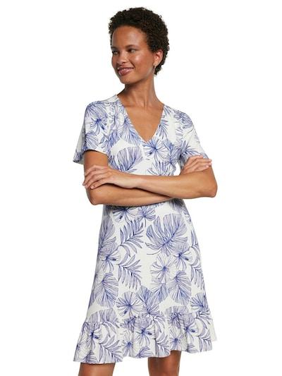 Desigual Kleid 'VEST NADIA' in blau / weiß, Modelansicht