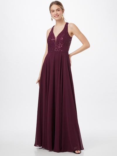 VM Vera Mont Kleid in bordeaux, Modelansicht