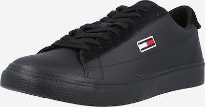 Tommy Jeans Sneaker in nachtblau / blutrot / schwarz / weiß, Produktansicht