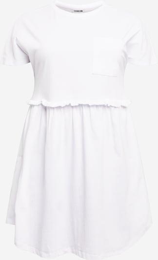 Noisy May Curve Kleid 'EVERLY' in weiß, Produktansicht