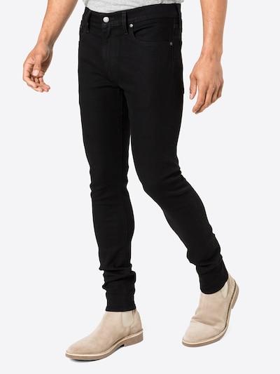 LEVI'S Jeans in black denim, Modelansicht