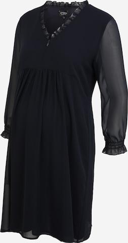 Attesa Shirt Dress in Blue