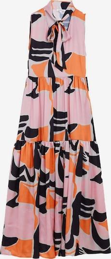 Zibi London Kleid 'Hepburn' in nachtblau / orange / hellpink / weiß, Produktansicht