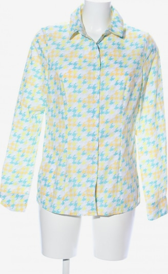 NIFE Hemd-Bluse in S in türkis / pastellgelb / weiß, Produktansicht