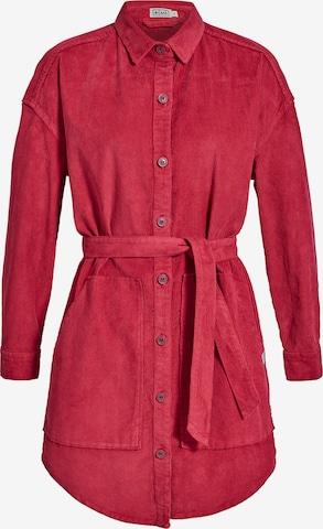 MÁ Hemp Wear Shirt 'Savina' in Rot