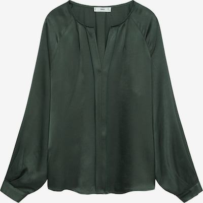 MANGO Blouse 'Rouge' in de kleur Smaragd, Productweergave