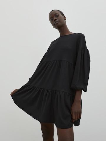 EDITED Kleid 'Deike' - Čierna