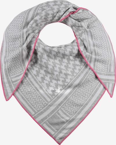 Zwillingsherz Masque en tissu 'Liv' en gris / rose / blanc, Vue avec produit