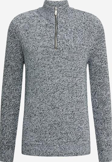 BURTON MENSWEAR LONDON Pullover 'FISHERMAN' in graumeliert, Produktansicht