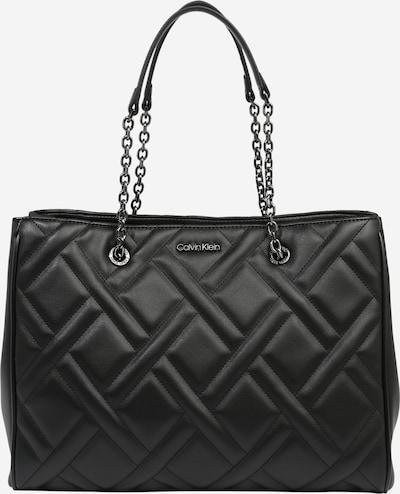 Calvin Klein Schultertasche  'QUILT' in schwarz, Produktansicht
