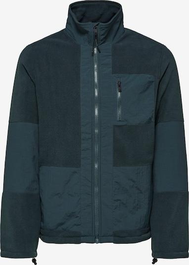 Jachetă  fleece 'Nohr' SELECTED HOMME pe verde petrol, Vizualizare produs