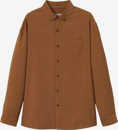 MANGO MAN Hemd in braun, Produktansicht