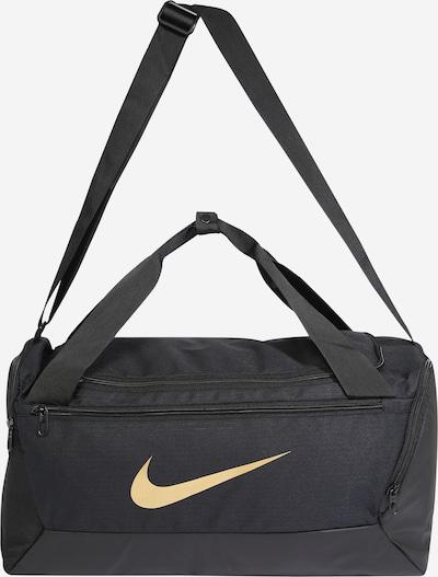 NIKE Sportska torba u svijetlobež / crna, Pregled proizvoda