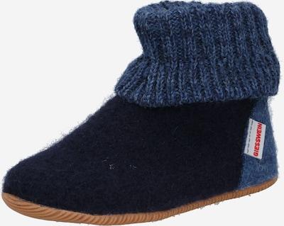 GIESSWEIN Zapatillas de casa 'Wildpoldsried' en azul / azul noche, Vista del producto