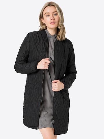 Manteau mi-saison 'FENYA' Soyaconcept en noir