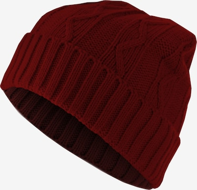 MSTRDS Beanie ' Beanie Cable Flap ' in Dark red, Item view