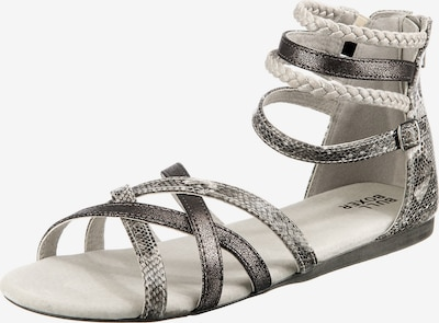 BULLBOXER Sandale in beige / taupe / hellgrau / dunkelgrau, Produktansicht