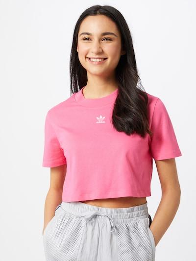 ADIDAS ORIGINALS T-shirt en rose: Vue de face