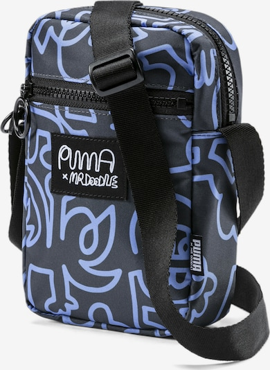 PUMA Schoudertas in de kleur Lichtblauw / Zwart, Productweergave