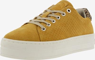BULLBOXER Sneaker in braun / senf, Produktansicht