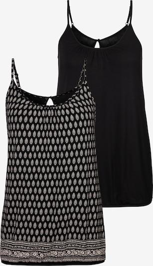 LASCANA Top in de kleur Zwart / Wit, Productweergave