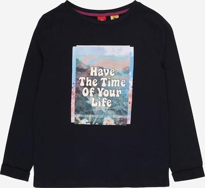 s.Oliver Shirt in navy / mischfarben, Produktansicht