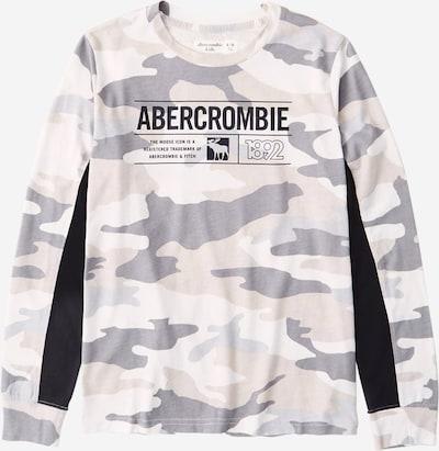 Abercrombie & Fitch T-Shirt en gris / kaki / blanc, Vue avec produit
