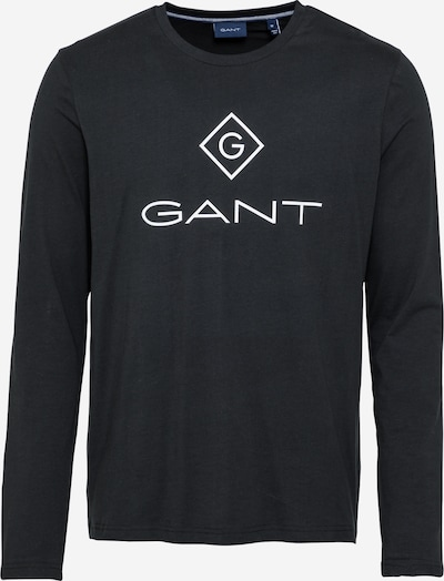 GANT Shirt in schwarz / weiß, Produktansicht