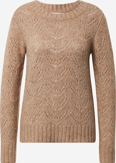 PIECES Pullover in beigemeliert, Produktansicht