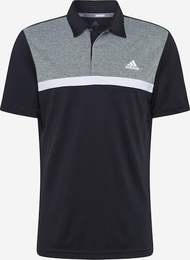 adidas Golf Functioneel shirt in de kleur Grijs gemêleerd / Zwart / Offwhite, Productweergave